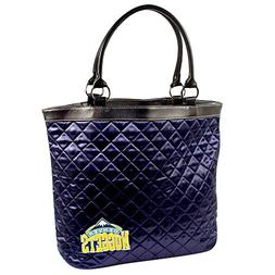 Denver Nuggets Quilted Tote, Navy