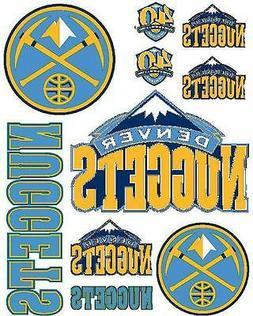 Denver Nuggets Scrapbooking Craft Sticker Sheet Set #1