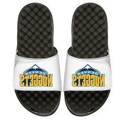 Denver Nuggets Slides ISlide Primary Logo Sandals