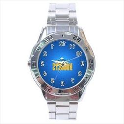Denver Nuggets Stainless Steel Watches - NBA Basketball