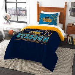 denver nuggets twin comforter and sham set