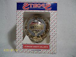 """Denver Nuggets Vintage 3"""" Topperscot Ornament NBA Licensed"""