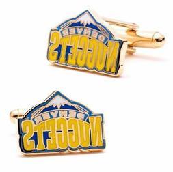 Denver NUGGETS vintage logo CUFFLINKS licensed by NBA with g