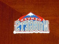 DENVER NUGGETS Vintage Old NBA RUBBER Basketball FRIDGE MAGN
