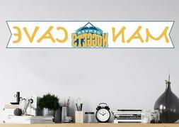 Denver Nuggets Wall Decal Basketball Logo Sport Man Cave NBA