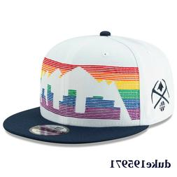 New Era Denver Nuggets  White City Edition On-Court 9FIFTY S