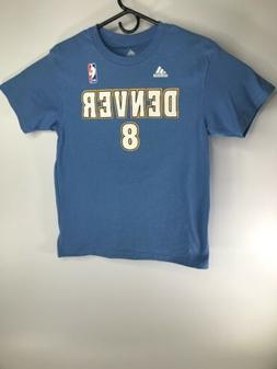 Denver Nuggets Youth Adidas #8 Gallinari Short Sleeve T-Shir