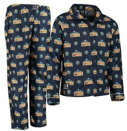Denver Nuggets  Youth All Over Pajama Set - Sz. L