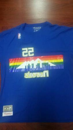 Dikembe Mutombo NBA Denver Nuggets Men's Mitchell & Ness Blu