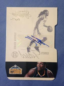 Kenneth Faried 2013 Panini Signatures #39 Denver Nuggets Aut