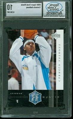 2004 upper deck rivals carmelo anthony 15
