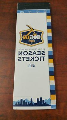 2013-14 DENVER NUGGETS FULL SEASON TICKET BOOK BOOKLET UNUSE