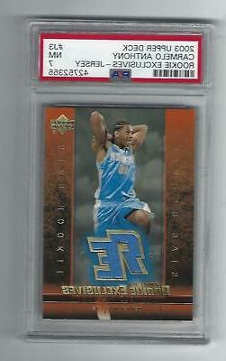 carmelo anthony 2003 04 ud rookie exclusive