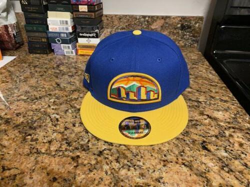 Denver Nuggets Skyline Snapback Cap