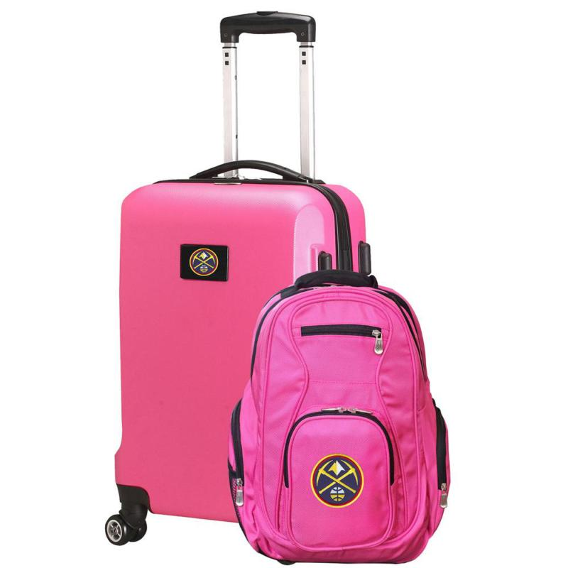 Denver Nuggets Deluxe 2-Piece Backpack And Carry On Set