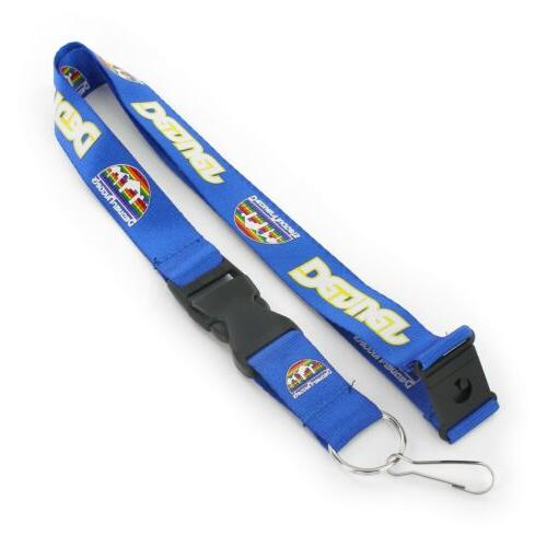 denver nuggets lanyard key chain detachable buckle