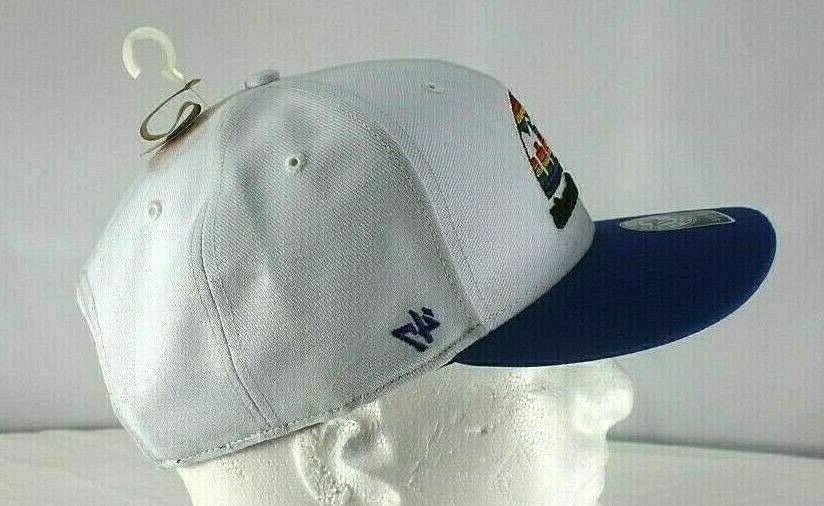 Denver Nuggets White/Blue NBA Baseball