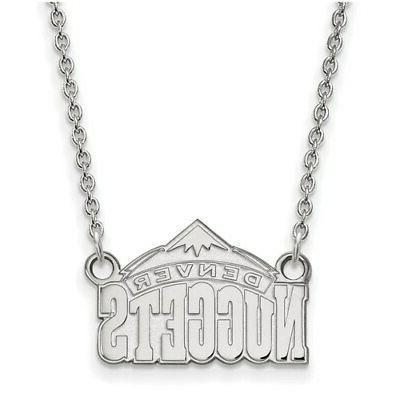 denver nuggets women s sterling silver pendant
