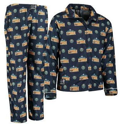 denver nuggets youth all over pajama set