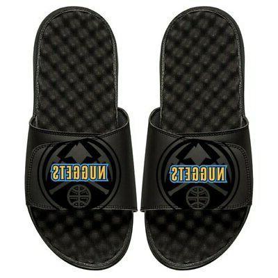 denver nuggets youth tonal pop slide sandals