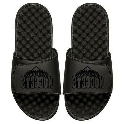 denver nuggets youth tonal slide sandals black