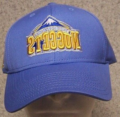 embroidered baseball cap sports nba denver nuggets