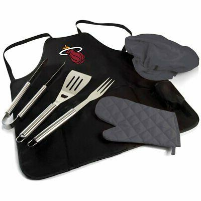 nba bbq apron tote pro with tools
