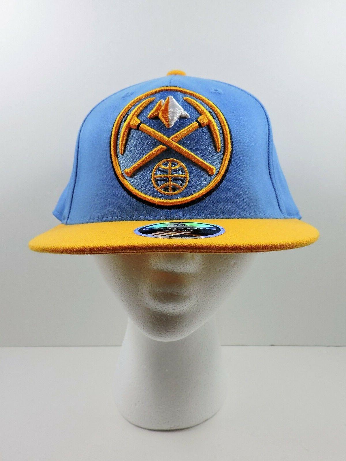 Adidas Denver Basketball Hat 7 1/4 5/8