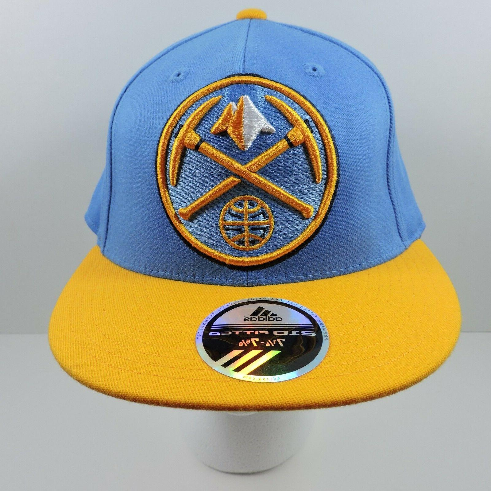 nba denver nuggets basketball baseball cap hat