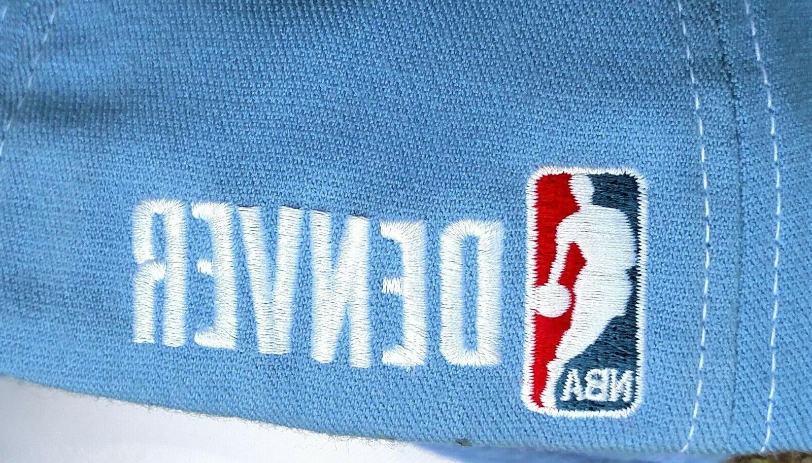 NEW/NWOT Nike NBA Nuggets Swoosh Baby Blue Baseball Cap