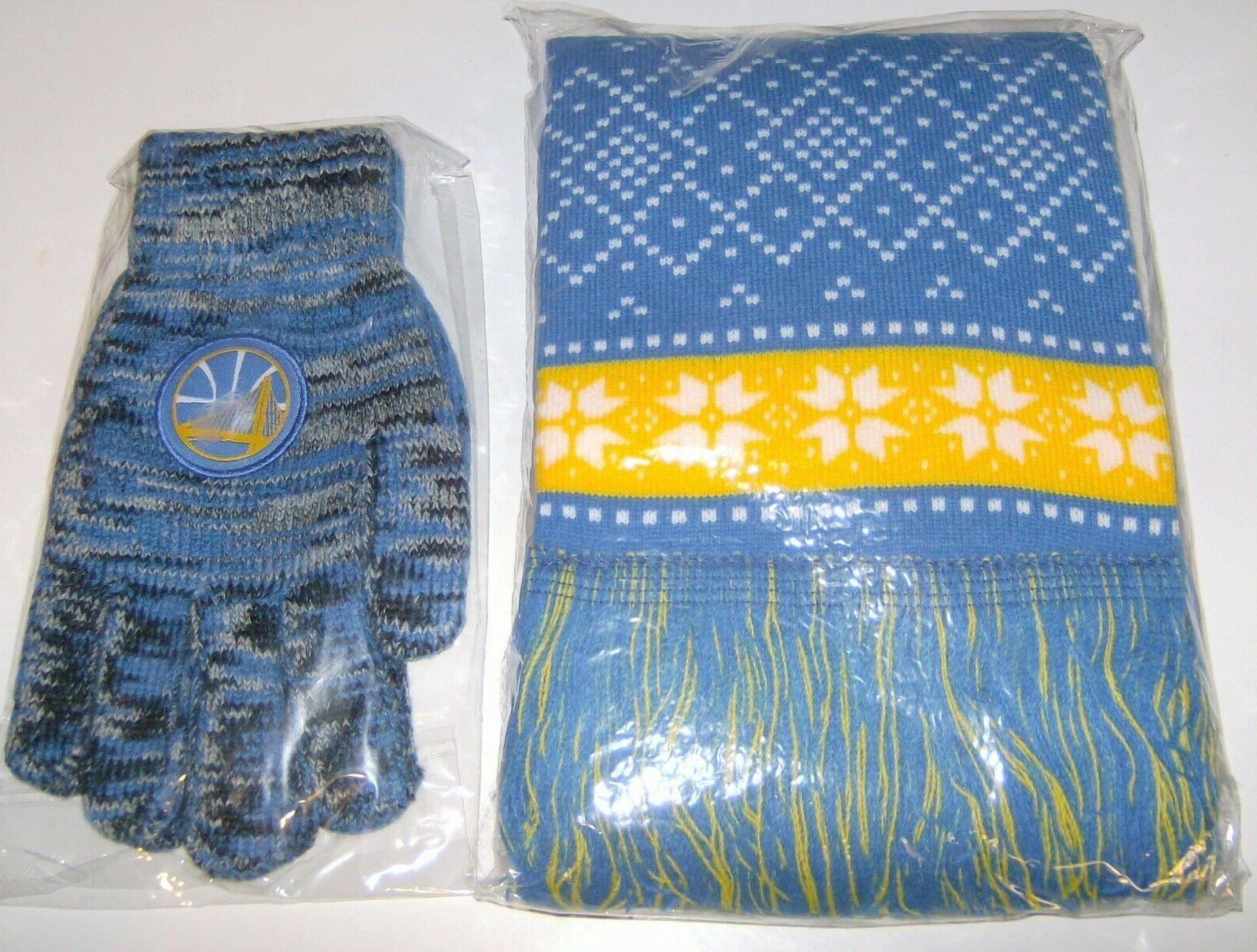 Sports Brand Sealed Nuggets Scarf & Gloves Adult NWT
