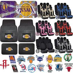 Licensed NBA Basketball Front Rear Rubber Floor Mats Sun Sha