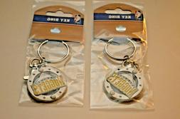Lot of  NEW Officially Licensed Metal Denver Nuggets Key Cha
