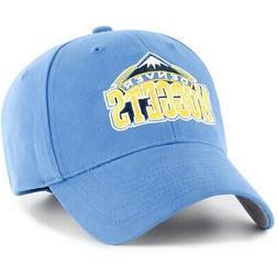Men's Light Blue Denver Nuggets Mass Basic Adjustable Hat