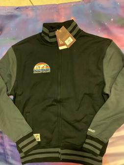MITCHELL & NESS MEN'S Denver Nuggets Fleece jacket size Larg