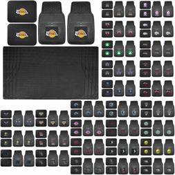 NBA Basketball Licensed Rubber Floor Mats UAA Cargo Mat Univ