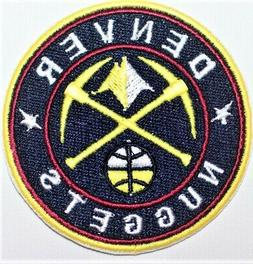 NBA Denver Nuggets Basketball Embroidered patch. - Iron-on -