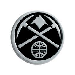 Fanmats NBA Denver Nuggets Diecast 3D Chrome Emblem Car Truc