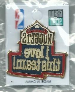 NBA Denver Nuggets i love this team! Pin OOP Basketball NIP