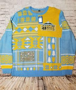 NBA Denver Nuggets Logo Mens Ugly Sweater Christmas Sweater