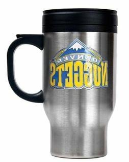 NBA Denver Nuggets Stainless Steel Travel Mug - Primary Logo