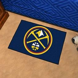 NBA Denver Nuggets Starter Doormat, 1'7 x 2'6
