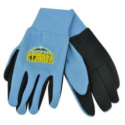 NBA Denver Nuggets Utility Gloves Work One Size Blue Texture