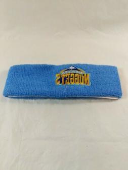 nba denver nuggets vintage nba fusion sweatband