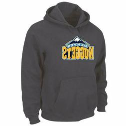 MAJESTIC NBA Denver Nuggets Youth Pullover Sweatshirt Hoody,