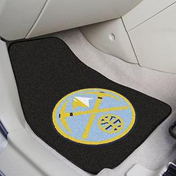 NBA Denver Nuggets 18 x 27 - 2 Piece Front Car Mats