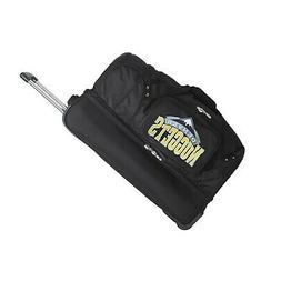 NBA Drop Bottom Rolling Duffel Luggage Denver Nuggets New