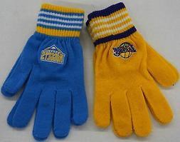 NBA Knit Winter Gloves 100% Acrylic  Women/Youth NEW!!