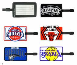 NBA Soft Rubber Luggage and Bag Tag - Pick Your Team