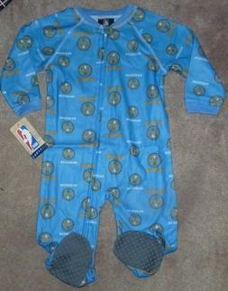 NEW NBA Denver Nuggets Baby 1 One Piece Sleepwear Loungewear
